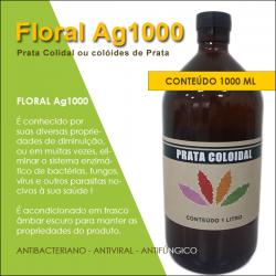 Floral Ag1000; Prata Coloidal ou colóides de prata